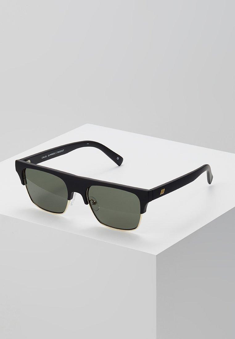 Le Specs - CRUEL SUMMER - Sluneční brýle - matte black