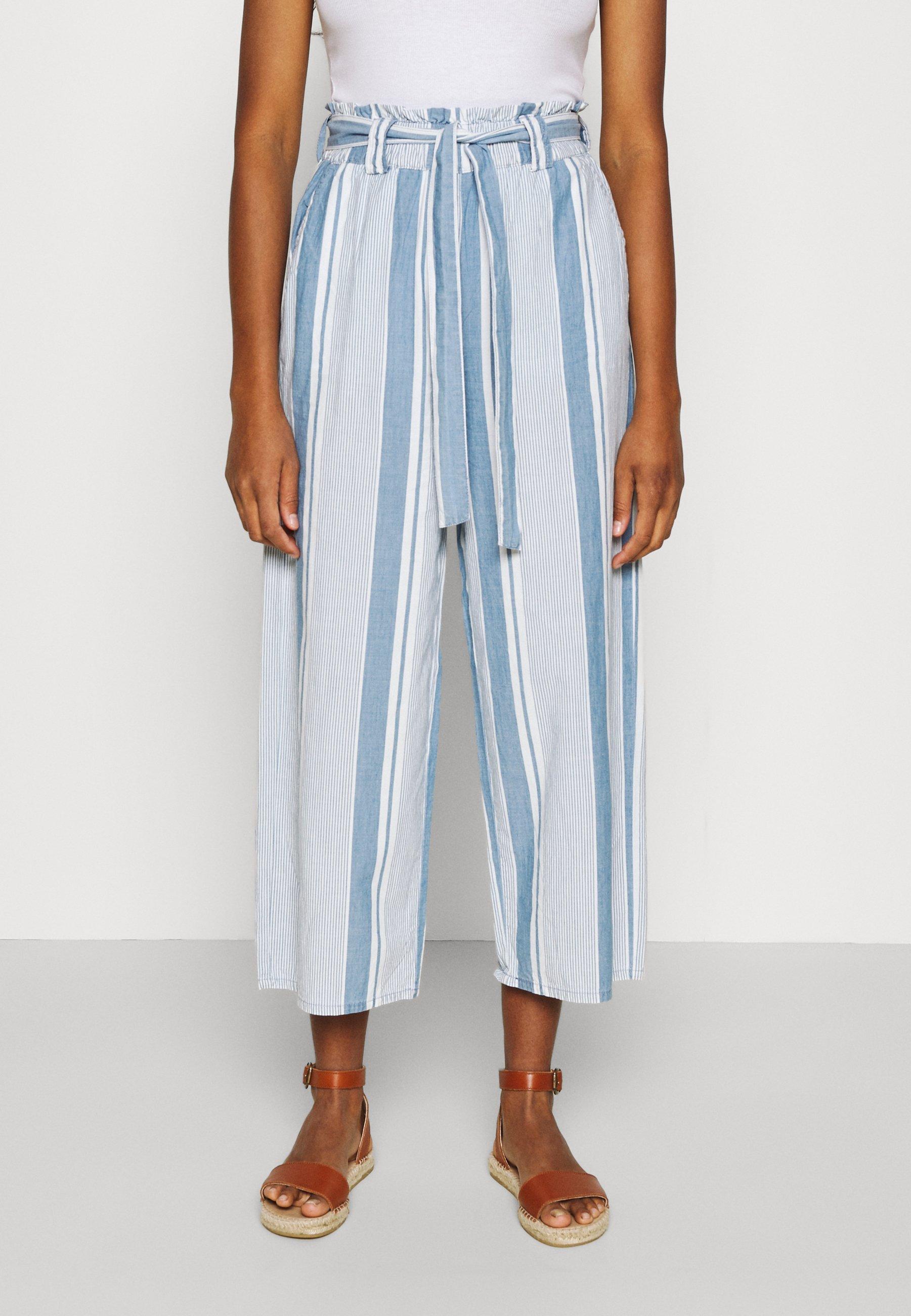 Femme VMAKELA PAPERBAG CULOTTE - Pantalon classique