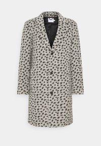 Topman - LEOPARD PRINT - Klasický kabát - grey - 5