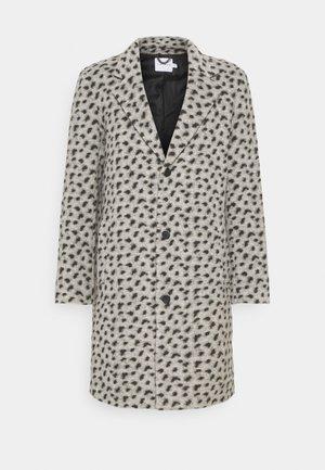 LEOPARD PRINT - Klasický kabát - grey