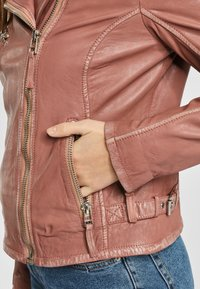 Gipsy - PGG LABAGV - Leather jacket - foggy rose - 4