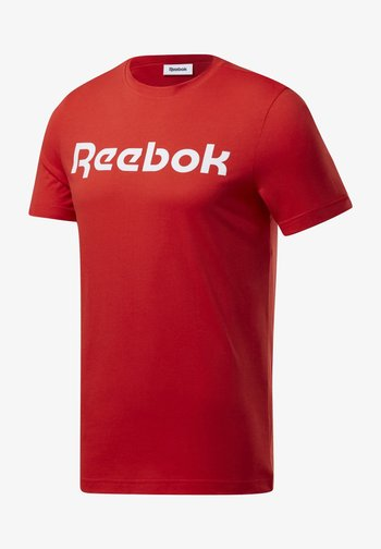 ELEMENTS SPORT SHORT SLEEVE GRAPHIC TEE - Print T-shirt - red