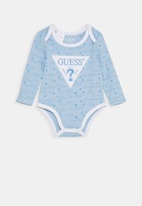 Guess - BABY 2 PACK - Body - blue stripes - 3