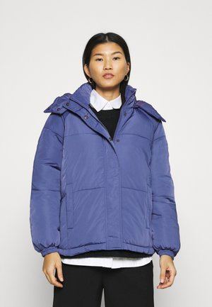 FILINA HOOD JACKET - Light jacket - gray blue