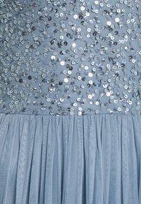 Lace & Beads Tall - AVALON MAXI TALL - Společenské šaty - dusty blue - 2