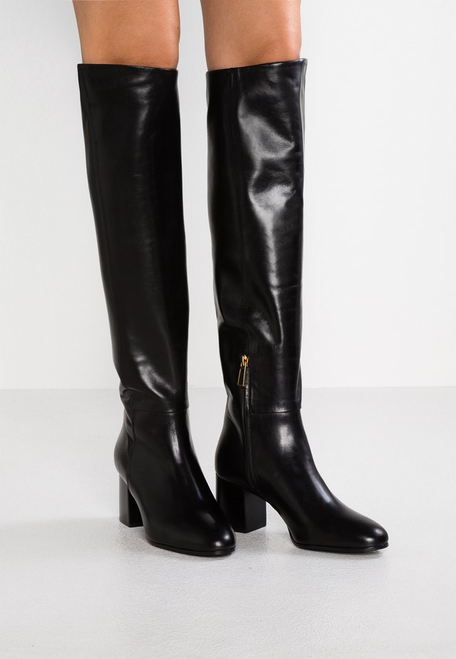 JADE HIGH BOOT - Cuissardes - black