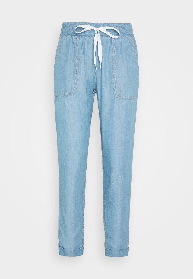Pantalones - blue denim
