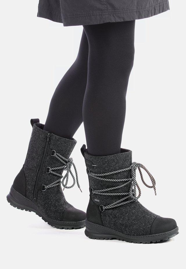 KOLI - WINTER BOOTS - Veterboots - dark grey