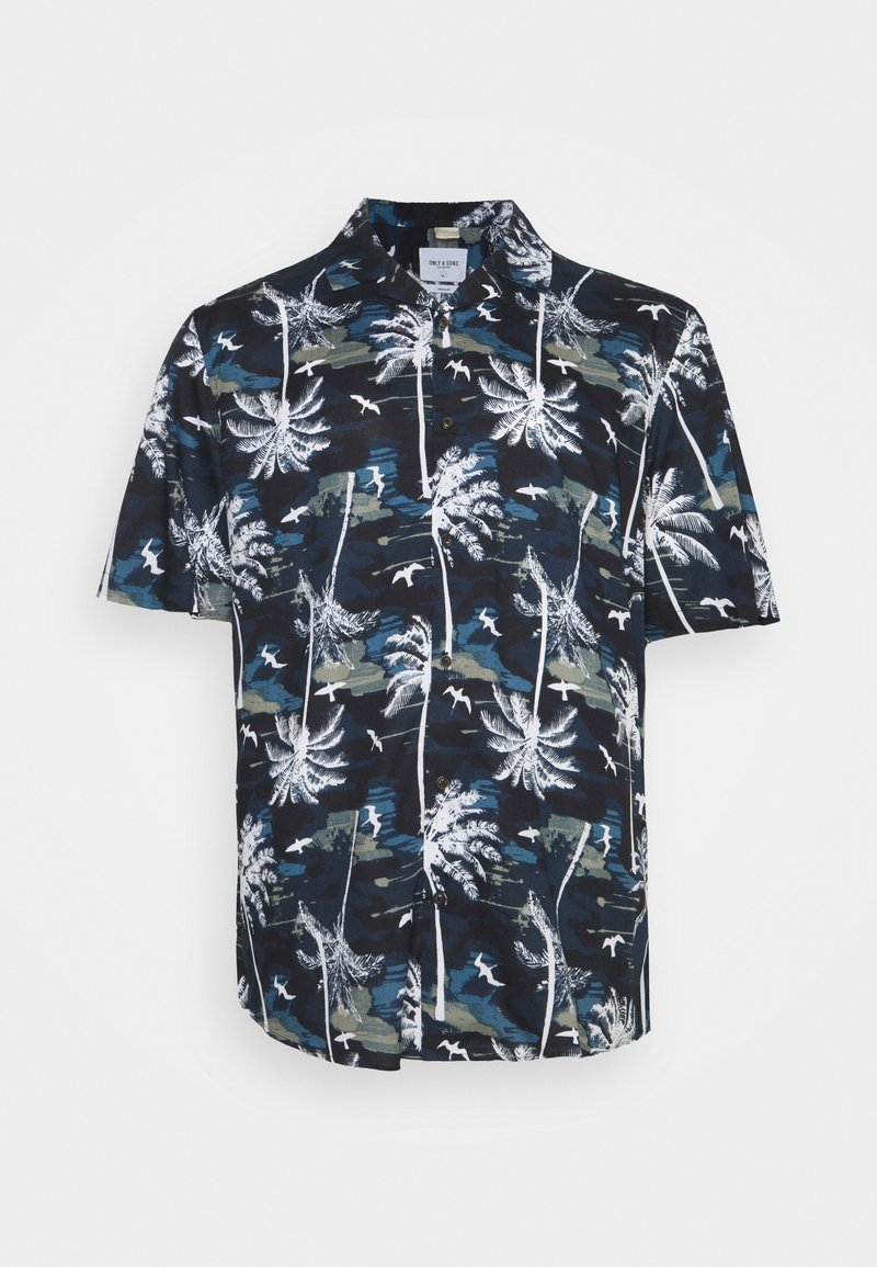 Only & Sons - ONSPALM LIFE - Skjorta - dress blues