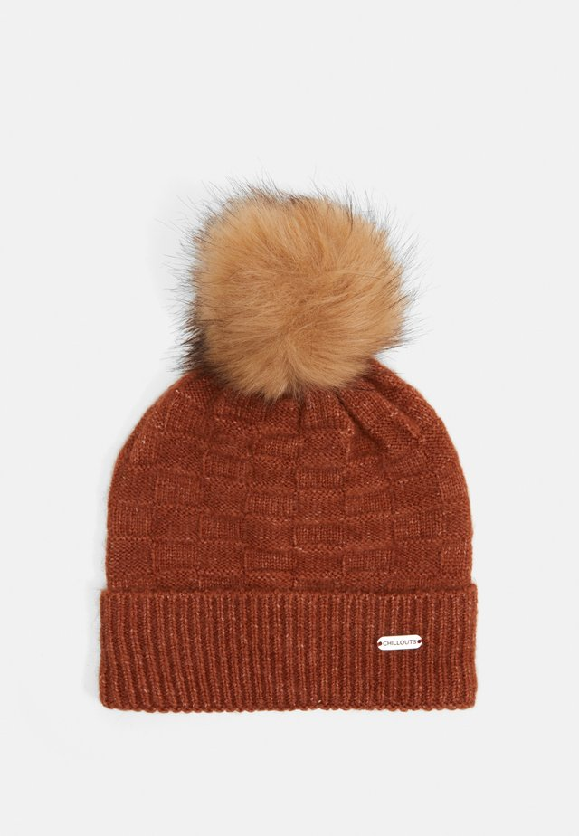 SAMANTHA HAT - Muts - rust