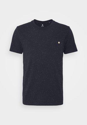 OLONNE UNISEX  - T-shirt imprimé - navy