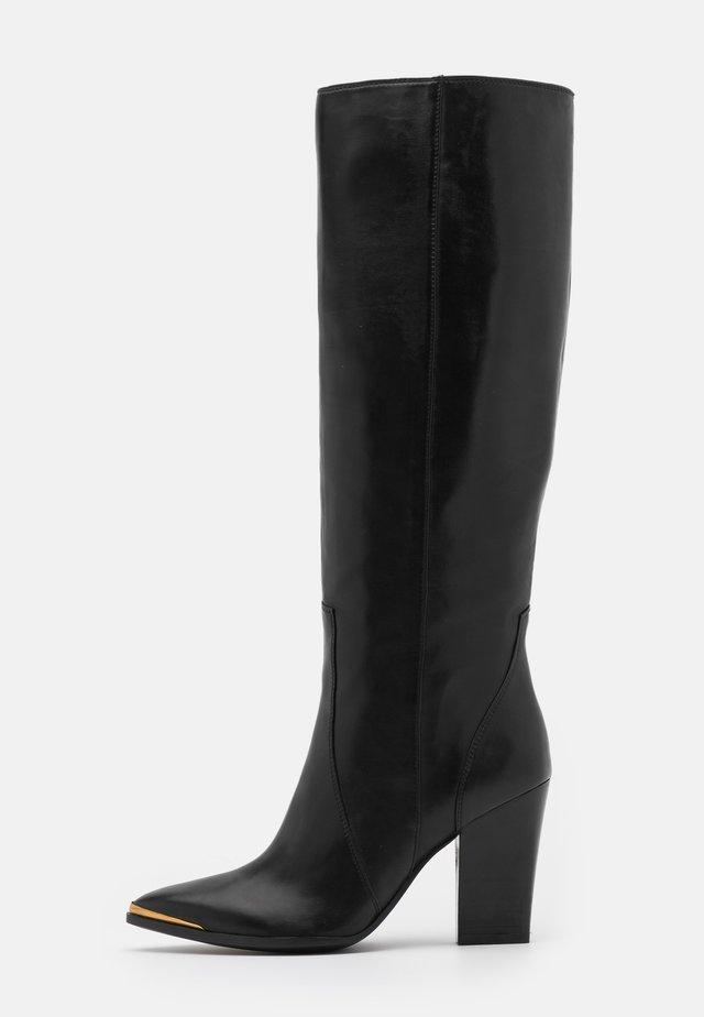 Stivali con i tacchi - firenze nero