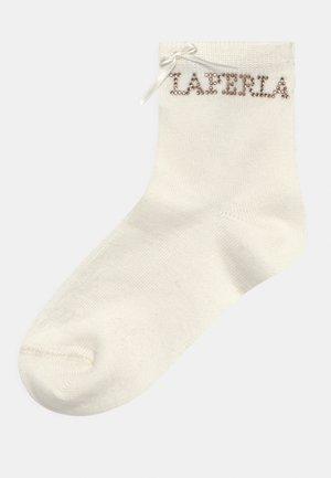 STRASS - Socken - naturale
