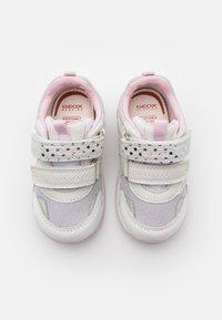 Geox - RISHON GIRL - Trainers - white/silver - 3
