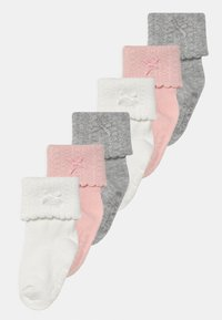 Carter's - ROLL BOW 6 PACK - Calze - light pink/multi-coloured - 0
