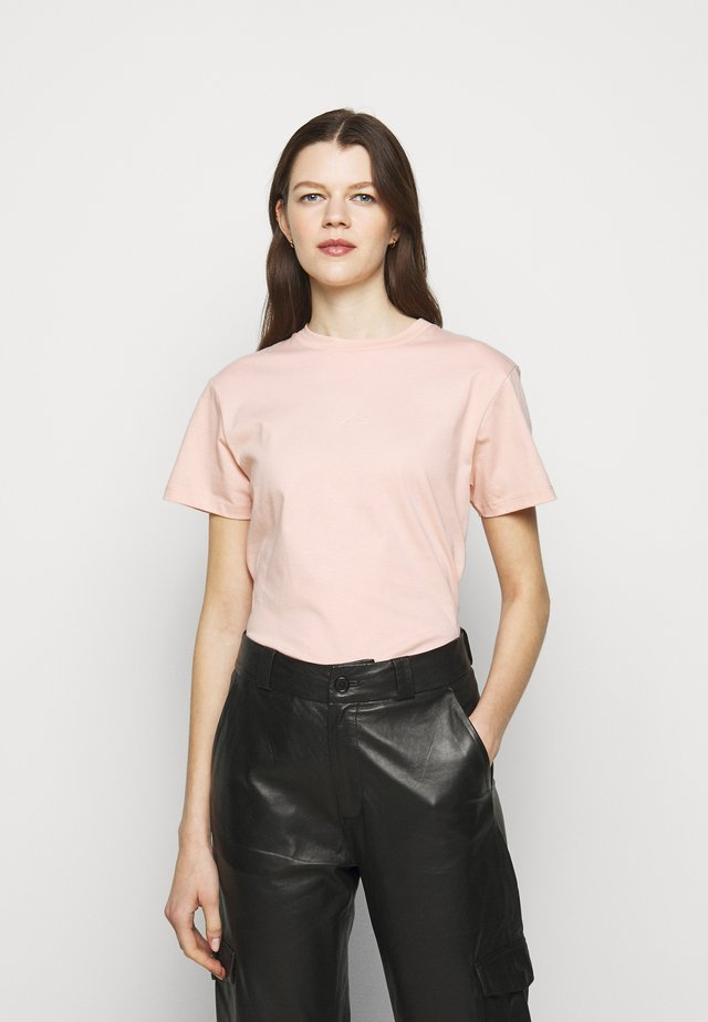 SUZANA TEE - T-shirt con stampa - washed pink