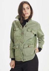 Denim Hunter - THE ARMY - Summer jacket - dusty olive - 0
