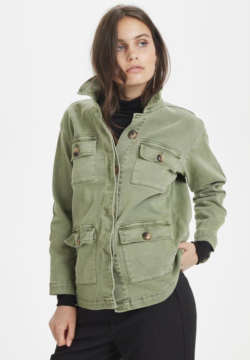 Denim Hunter - THE ARMY - Summer jacket - dusty olive