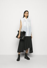 3.1 Phillip Lim - CAP SLEEVE BLOUSE - Button-down blouse - white - 1