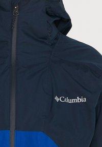 Columbia - RAIN SCAPE JACKET - Kurtka przeciwdeszczowa - collegiate navy/bright indigo - 6