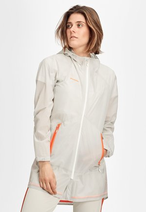 Regenjacke / wasserabweisende Jacke - bright white