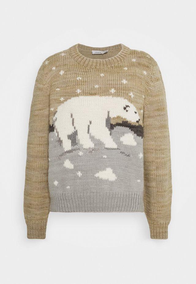 POLAR BEAR SWEATER - Pullover - beige