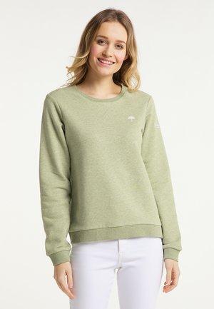 Sweatshirt - pastelloliv melange