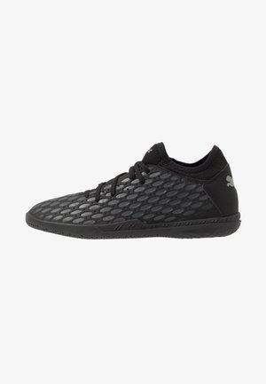 FUTURE 5.4 IT - Indoor football boots - black/asphalt