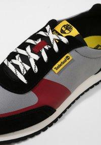 Timberland - LUFKIN  - Sneakers - md grey mesh wblk - 5