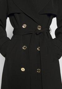 MICHAEL Michael Kors - DRAPY - Trenchcoat - black - 8