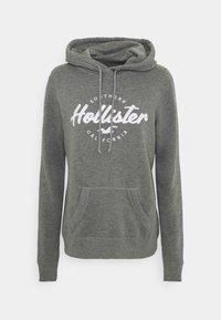 Hollister Co. - TECH CORE - Hoodie - grey - 3