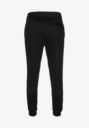 JOGGINGHOSE SPORTSWEAR - Pantalon de survêtement - black/refelctive silv