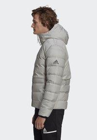 adidas Performance - URBAN COLD.RDY PRIMEGREEN OUTDOOR DOWN JACKET - Down jacket - grey - 3