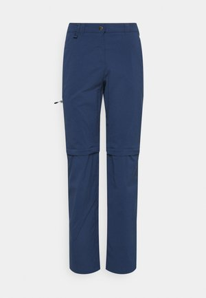 ACTIVATE LIGHT ZIP OFF WOMEN - Trousers - dark indigo