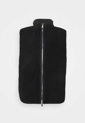 WILTON VEST - Waistcoat - black