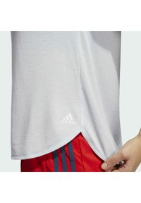 adidas Performance - GO TO TEE  - T-shirt basique - white - 5