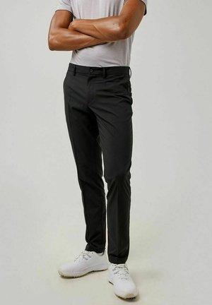 ELOF GOLF - Trousers - black