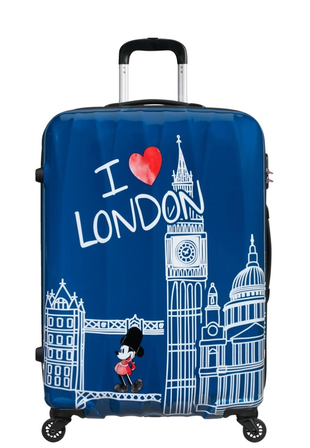 DISNEY LEGENDS ALFATWIST - Wheeled suitcase - take me away mickey london