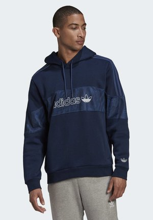 BX-2O HOODIE - Jersey con capucha - blue