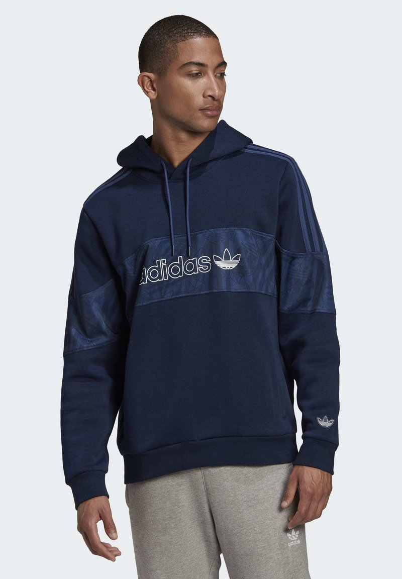 adidas Originals - BX-2O HOODIE - Hoodie - blue