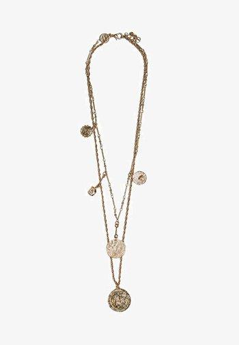 MIT MÜNZEN - Necklace - gold-coloured