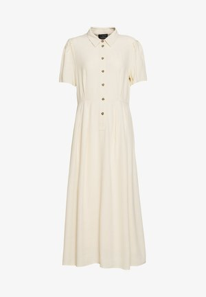SLFREBEKKA ORIANA MIDI DRESS - Shirt dress - sandshell
