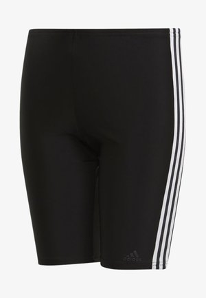 3-STRIPES SWIM JAMMERS - Uimahousut - black/white