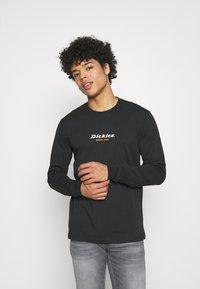 Dickies - CENTRAL TEE - Long sleeved top - black - 0
