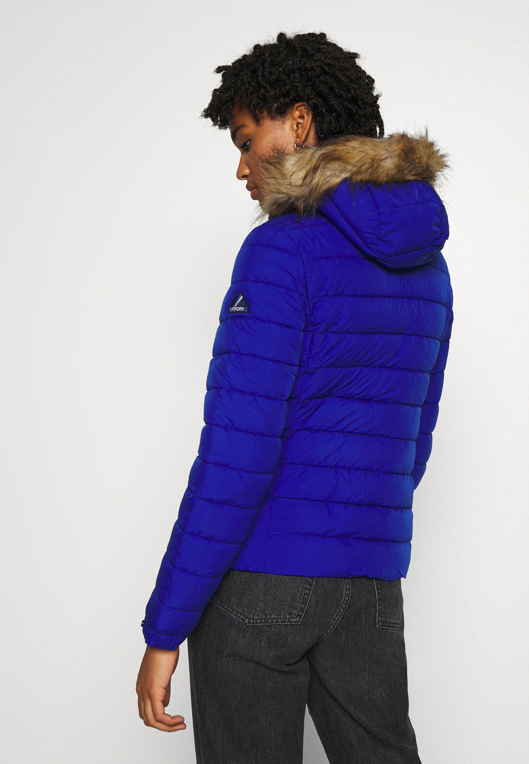 Superdry CLASSIC FUJI JACKET Winterjacke blue/blau