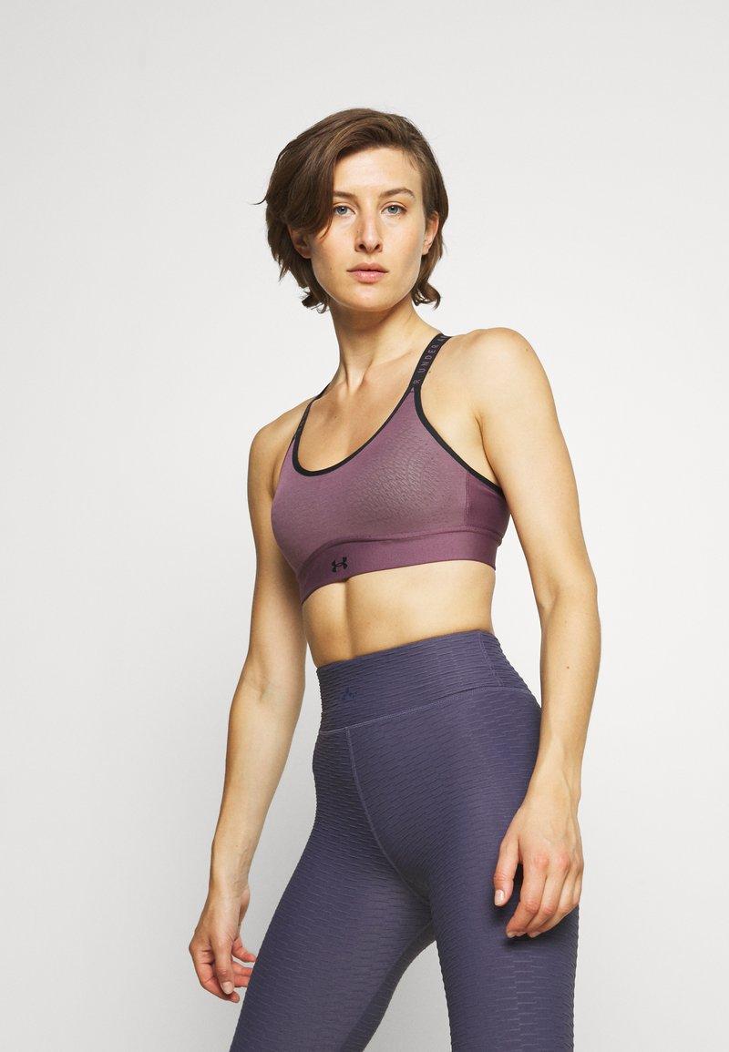Under Armour - INFINITY MID BRA - Medium support sports bra - purple/black