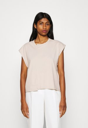 NMDAPHNI - Basic T-shirt - chateau gray
