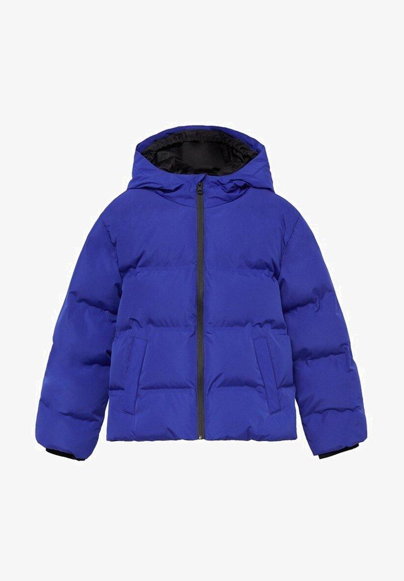 Mango - Zimní bunda - blau