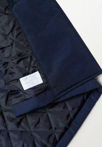 Mango - Trenchcoat - dunkles marineblau - 2