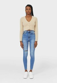 Stradivarius - Jeans Skinny Fit - blue denim - 1